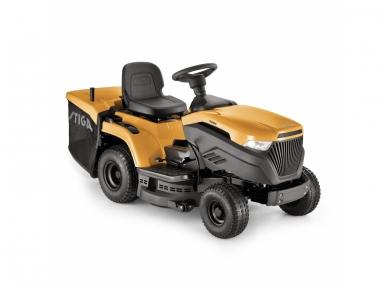 Stiga vejos traktoriukas su surinktuvu Estate 3084 H