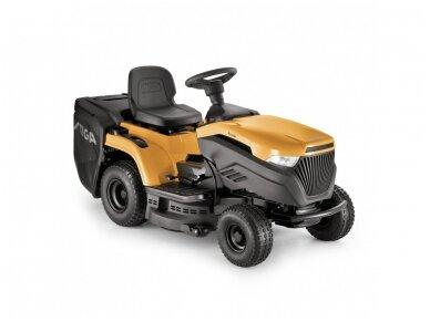 Stiga vejos traktoriukas su surinktuvu Estate 3398 HW (Honda variklis)